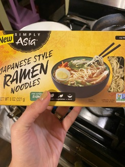 The ramen I like to use