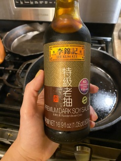 The dark soy sauce I am using